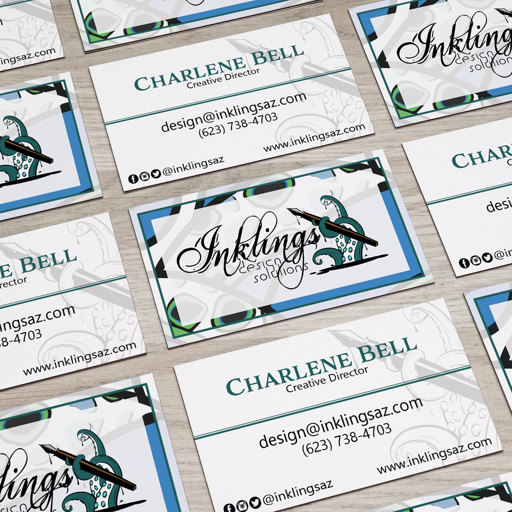 Inklings Design Solutions Business Card