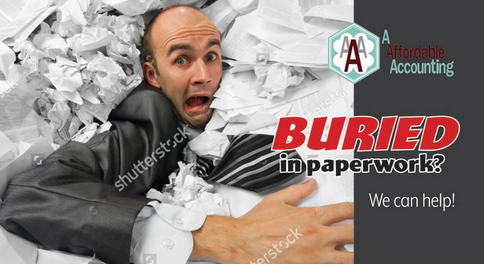 """Buried in Paperwork? We can help!"""