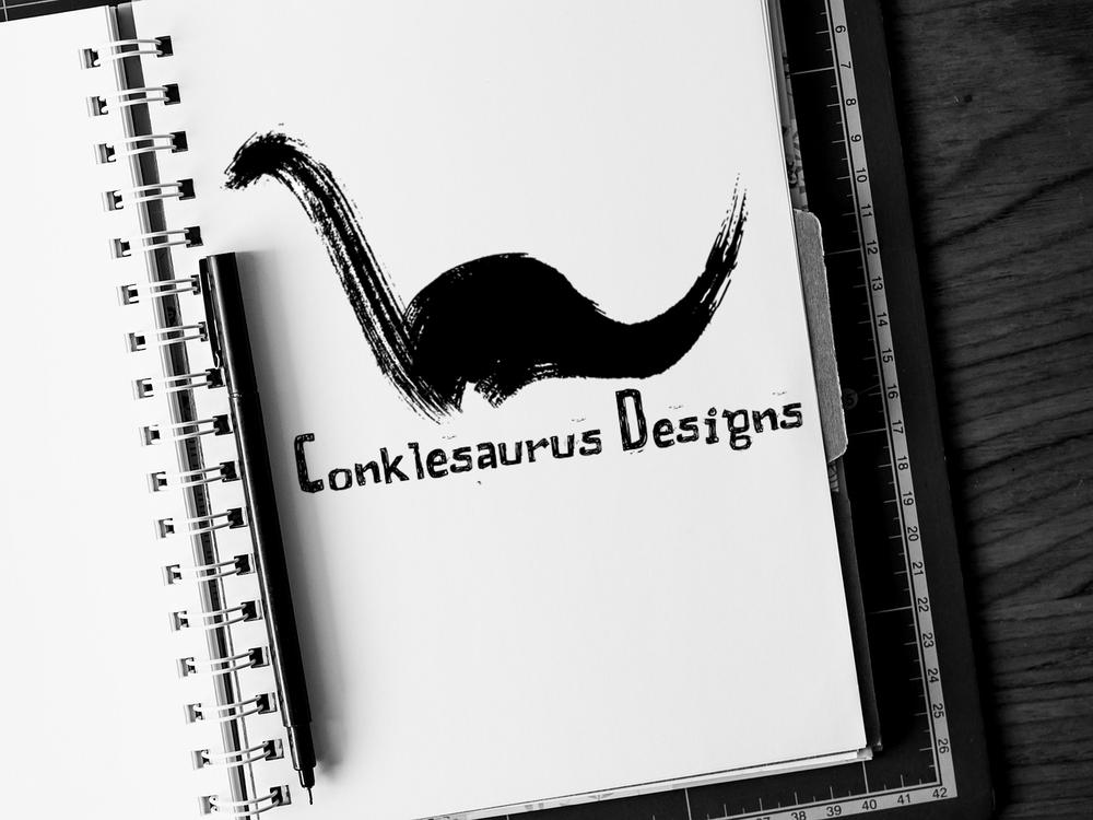 Conklesaurus Designs Logo