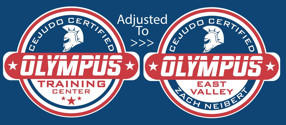 Olympus Training Center Design Adjustment