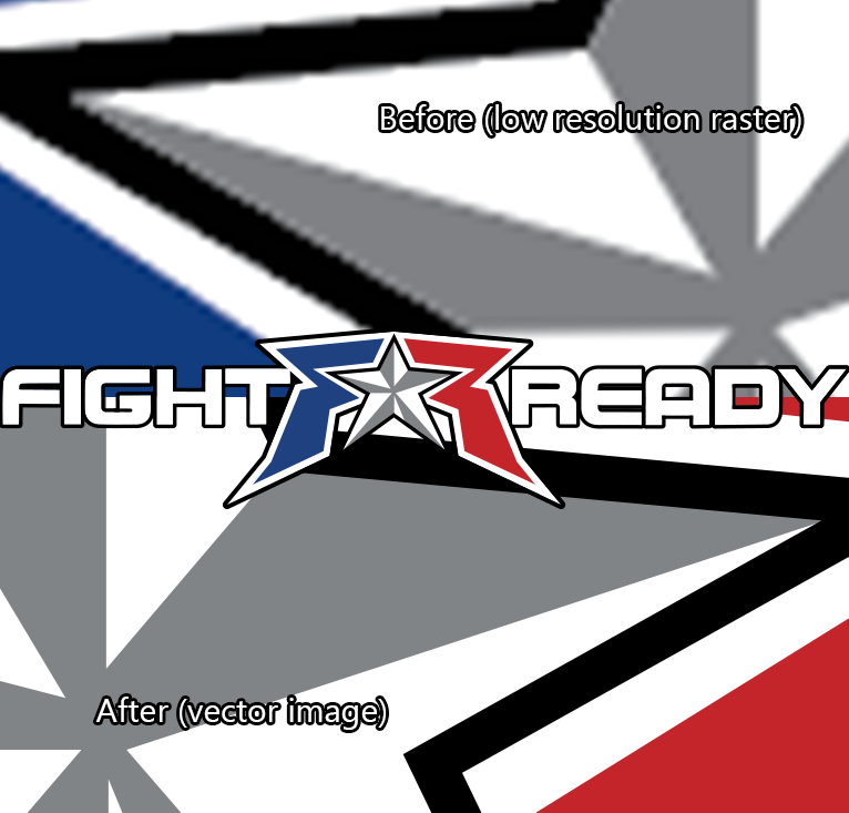 Fight Ready Vector Treatment