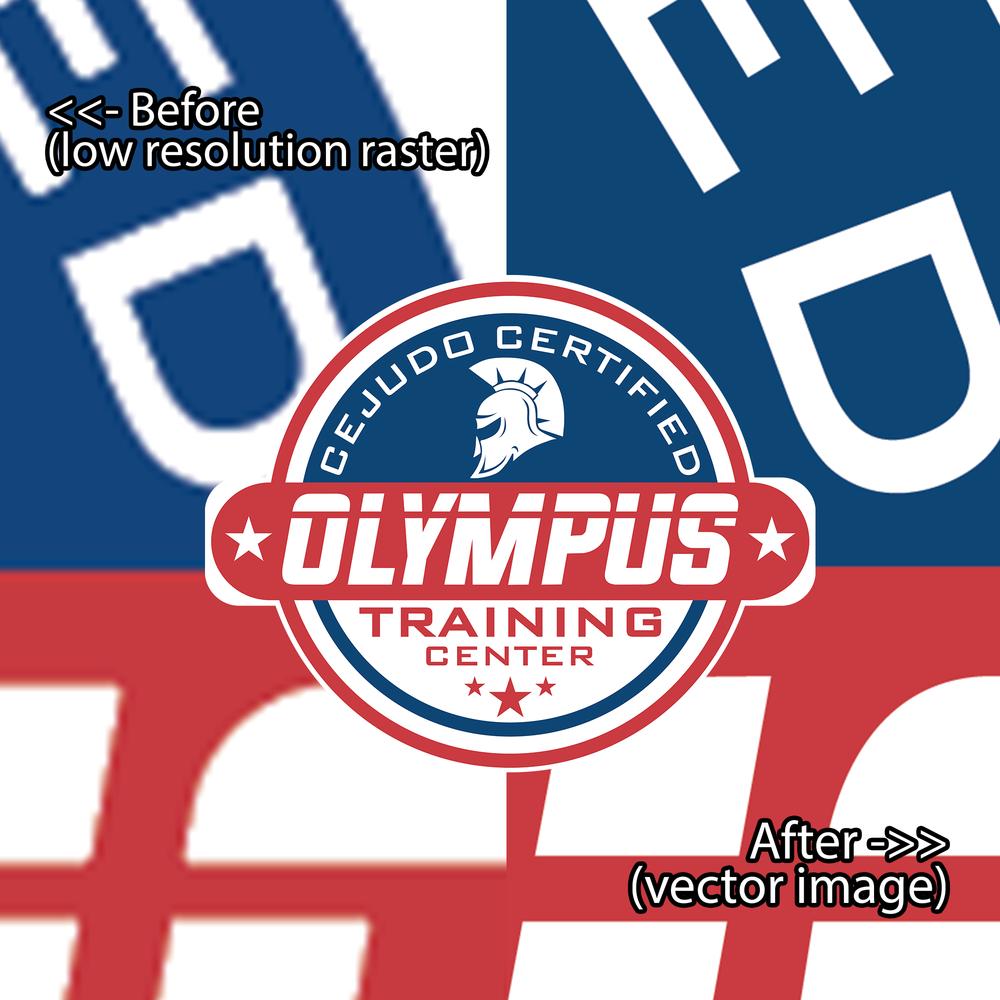 Olympus Training Center Vector Treatment