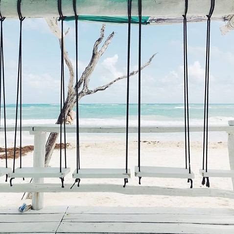 Ready to swing into the weekend... Who's with us? (Photo credit @christineflynnart )