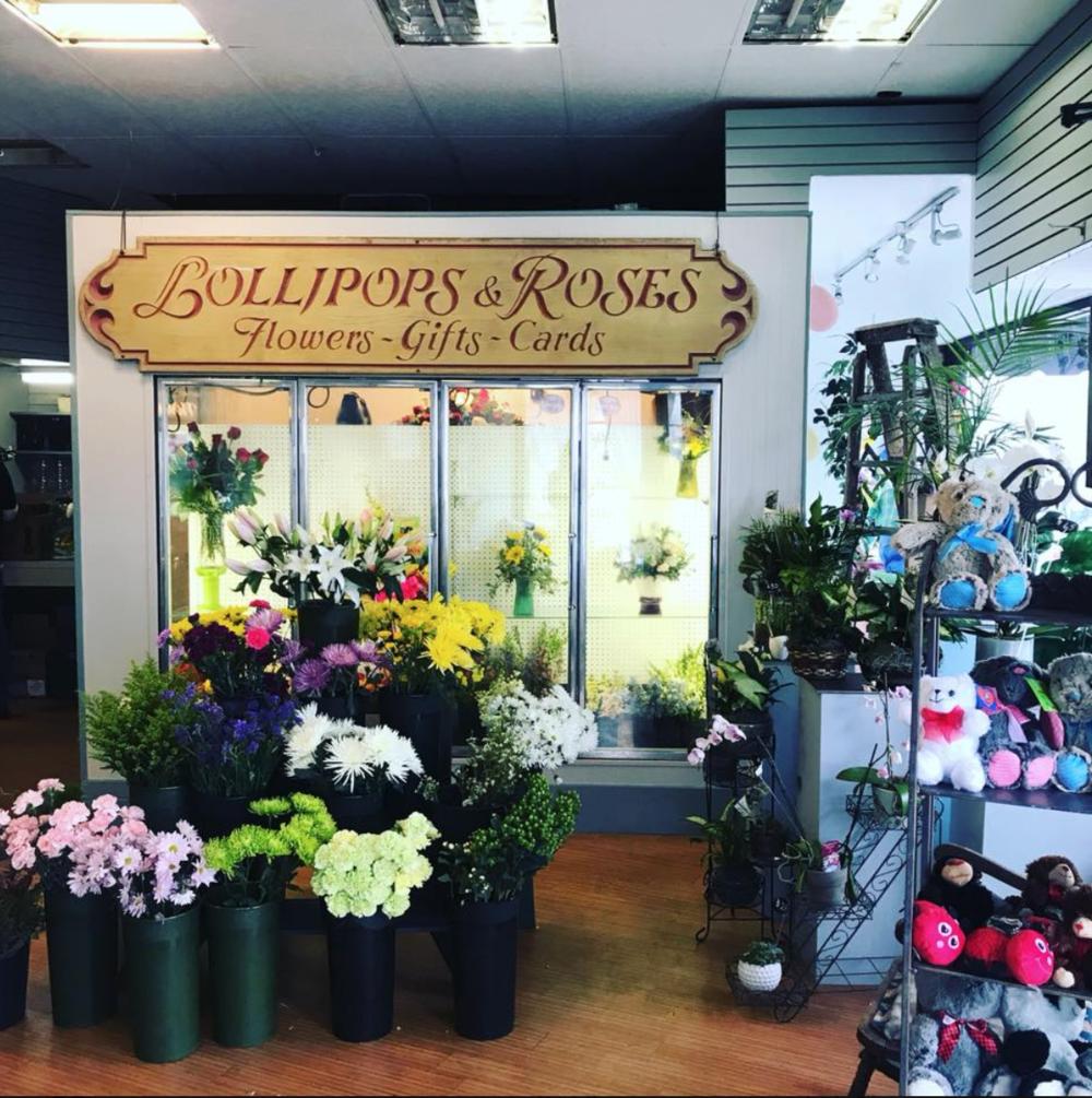 lollipops and roses flower shop medford ma