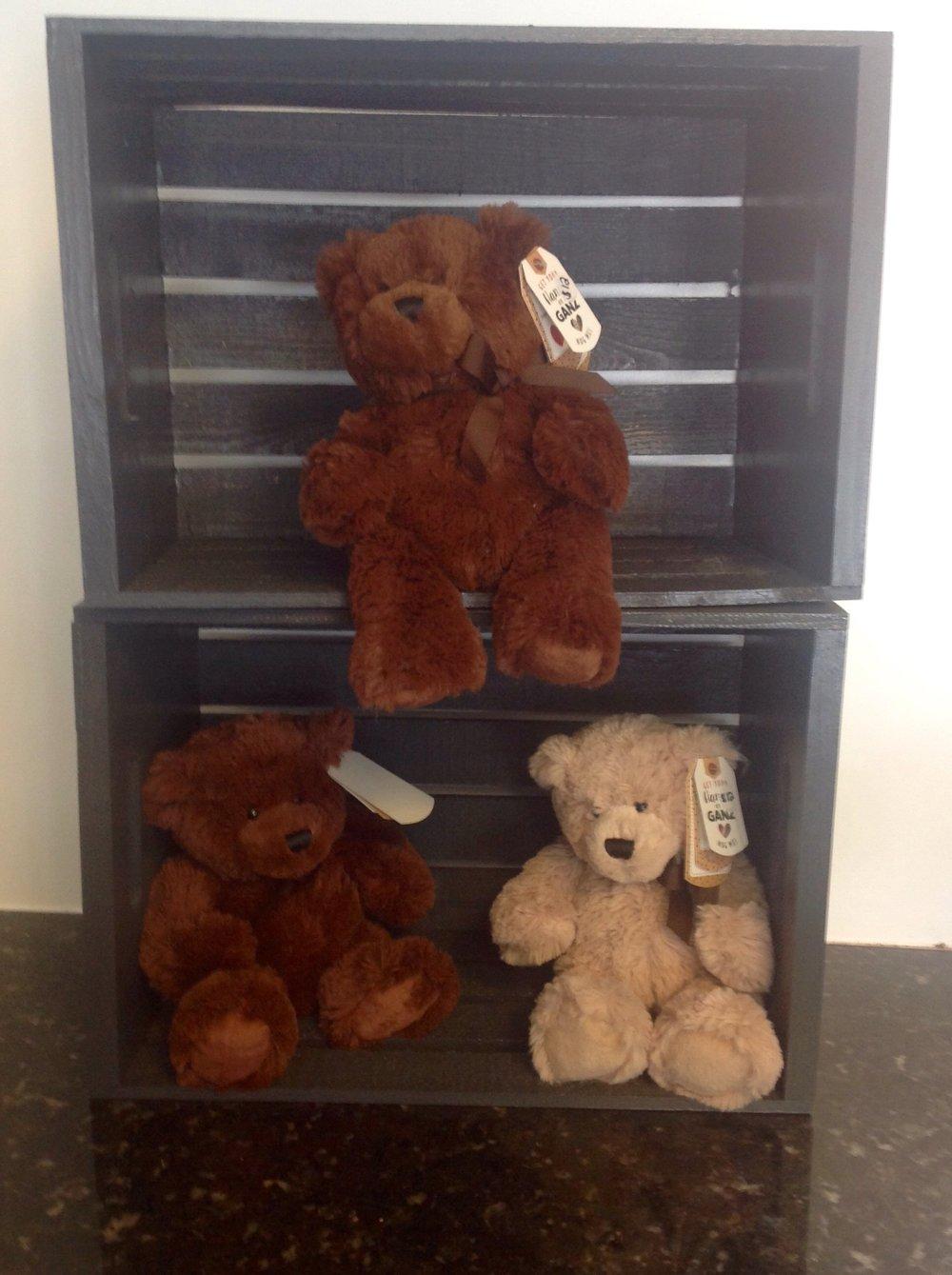 Ganz Stuffed Bears (lg/med/sm)