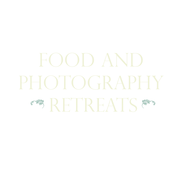 FOOD AND PHOTOGRAPHY RETREATS