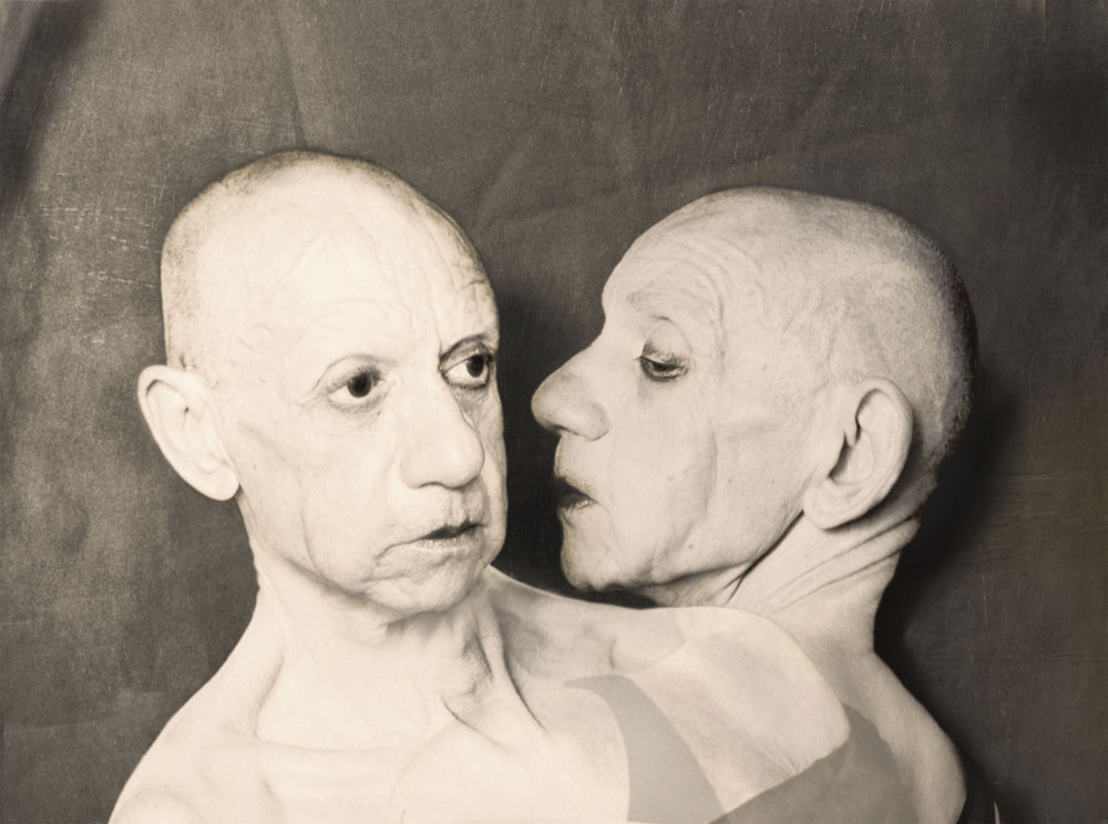 Copy of « LOOKING FOR THE MASTERS IN RICARDO'S GOLDEN SHOES #20 (TRIBUTE TO CLAUDE CAHUN, QUE ME VEUX TU, 1928) » BY CATHERINE BALET
