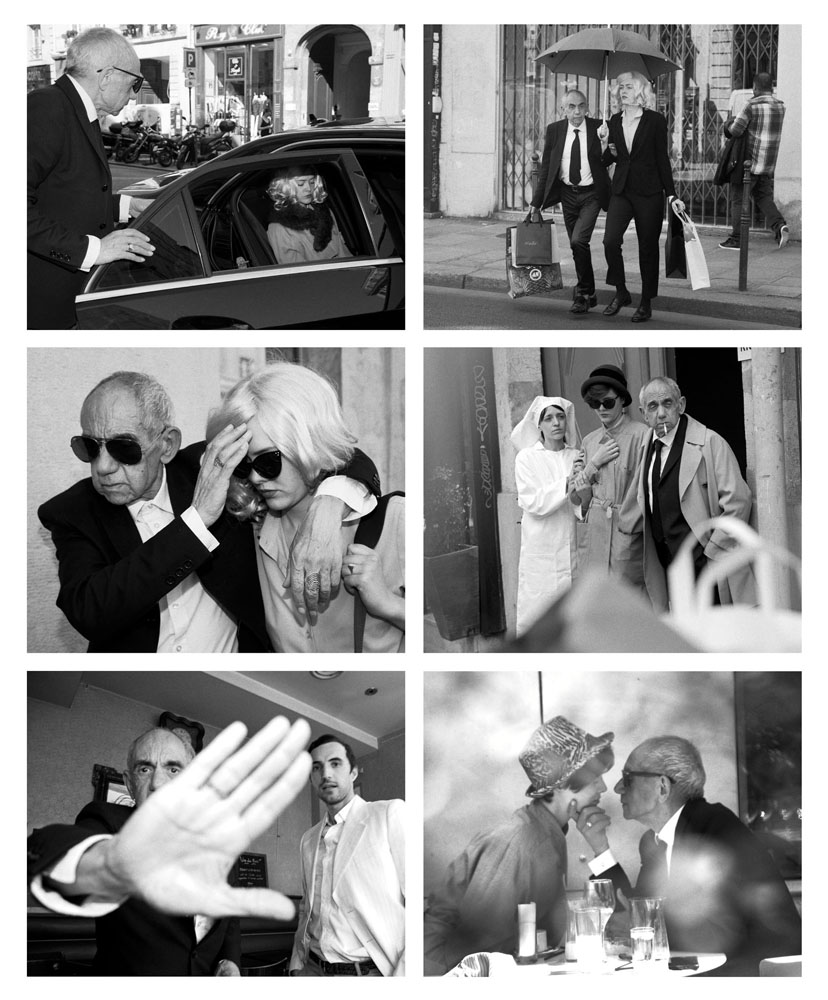 Copy of « LOOKING FOR THE MASTERS IN RICARDO'S GOLDEN SHOES #62 (PAPARAZZI) » BY CATHERINE BALET