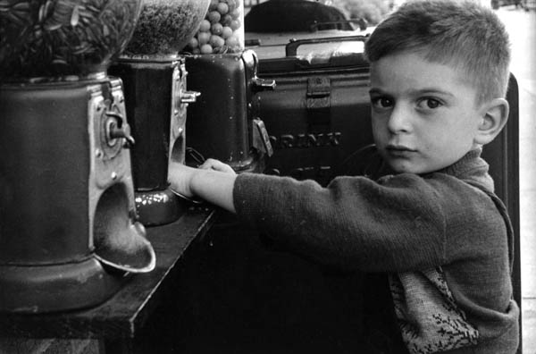 "Copy of ""BOY WITH GUMBALL MACHINE"" BY HAROLD FEINSTEIN"