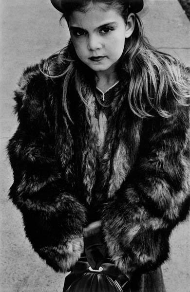"Copy of ""YOUNG GIRL IN FUR COAT"" BY HAROLD FEINSTEIN"