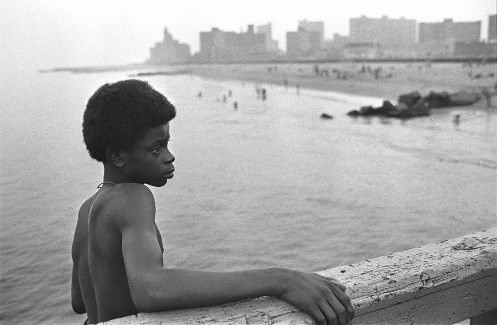 Copy of About to Jump (Coney Island, New York), 1974