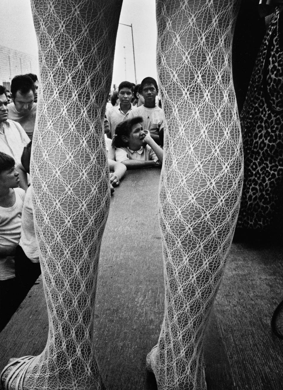 Copy of Lacy Legs (Coney Island, New York), 1969