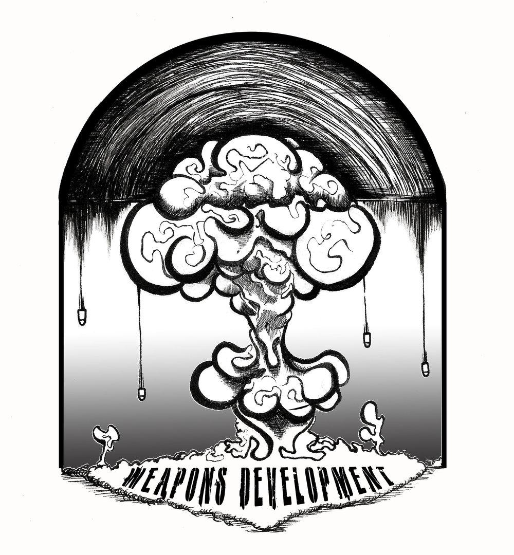 Logo design for Weapons Development media.