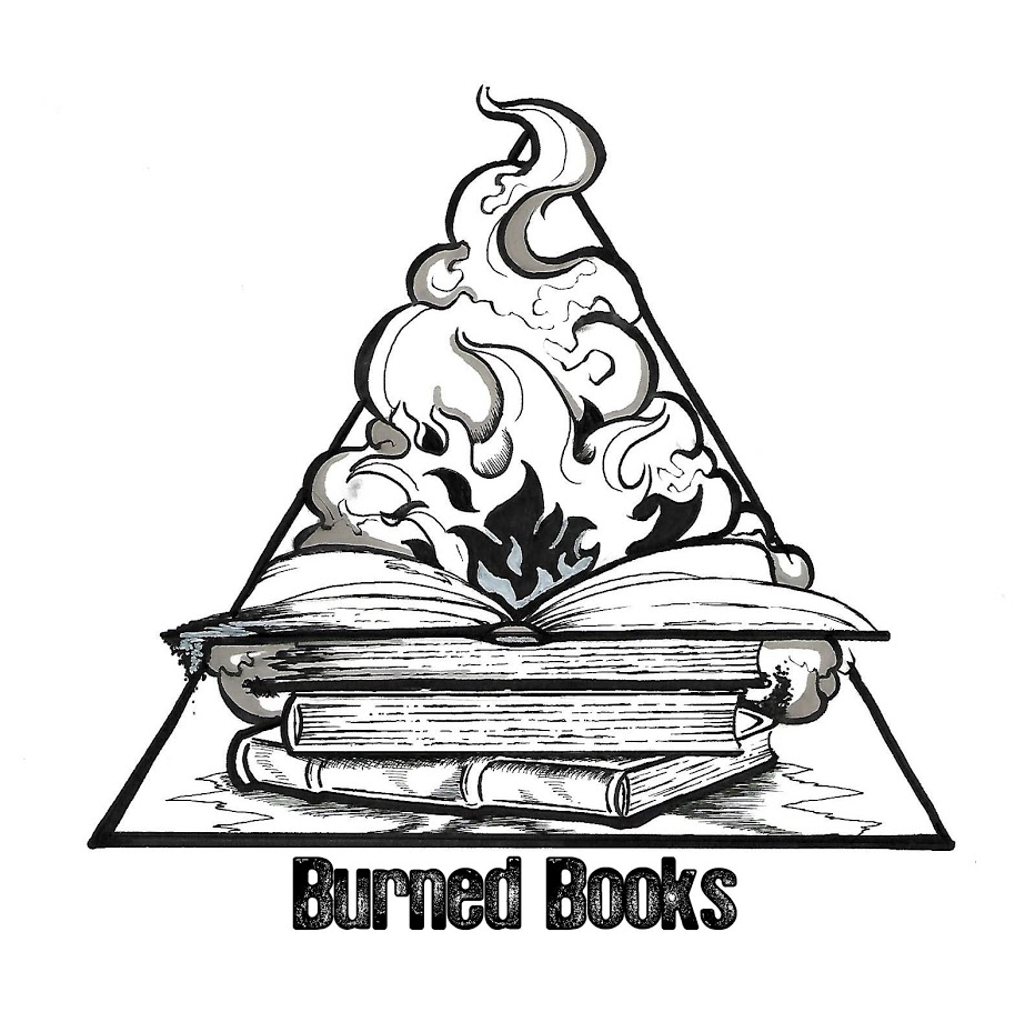 logo design for burned book media