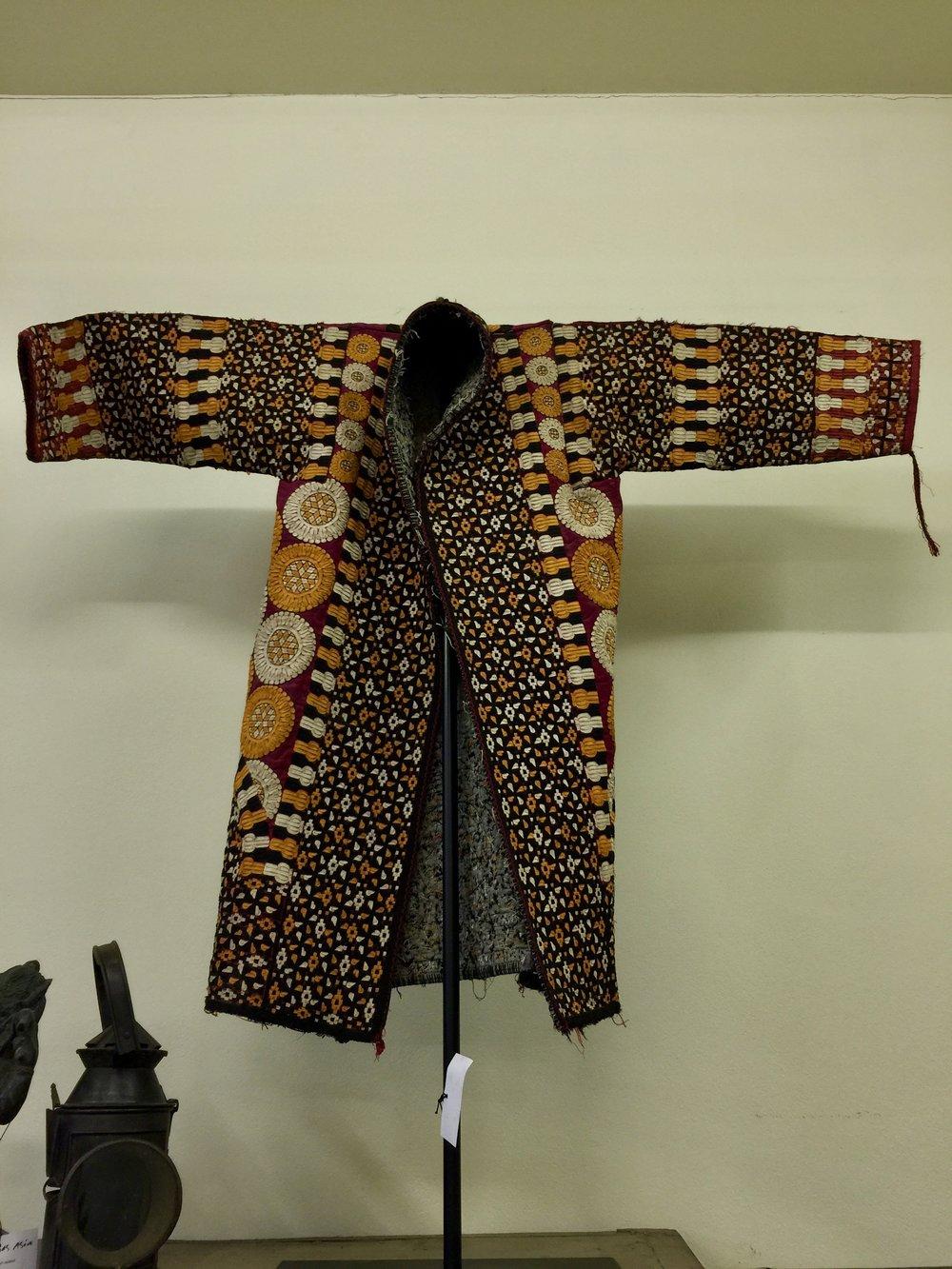 Turkmenistan Jacket with Iron Stand