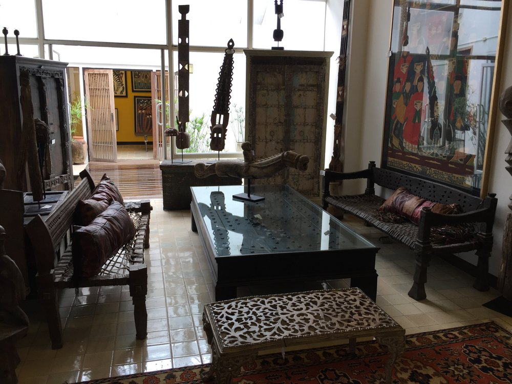 Ethiopian Ambo Benches and Coffee Table