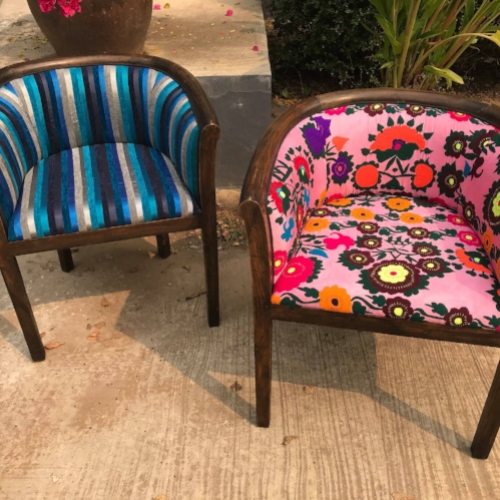 Upholstered Occasional Chairs -