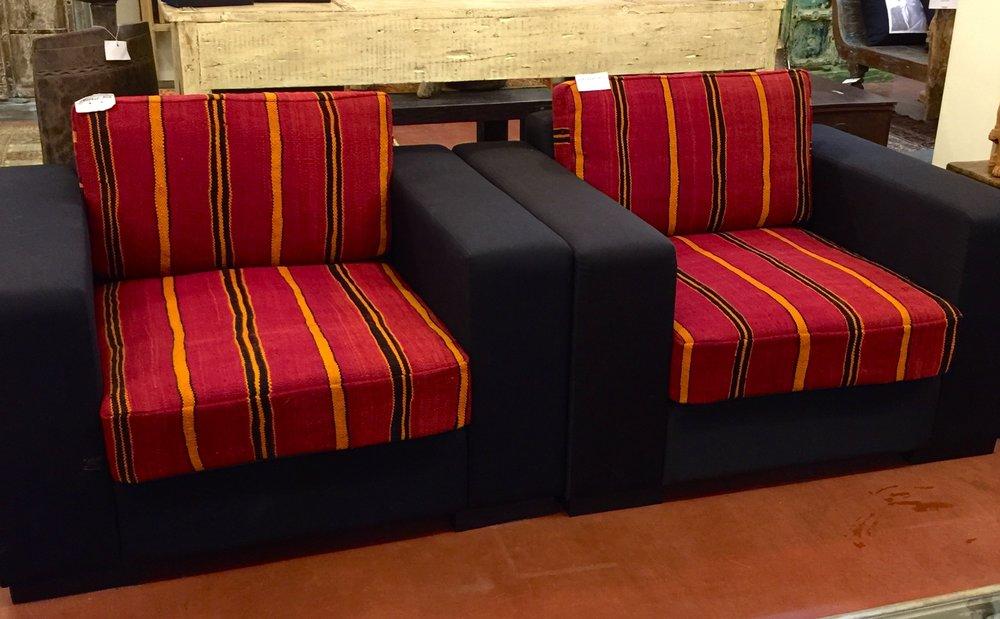 Moroccan Berber Blanket Sofa
