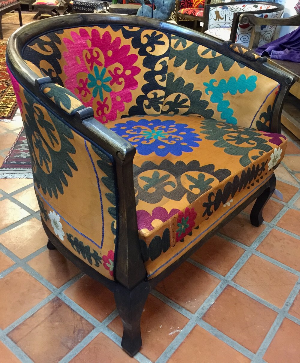 Louis Chair Upholstrd with Suzeini