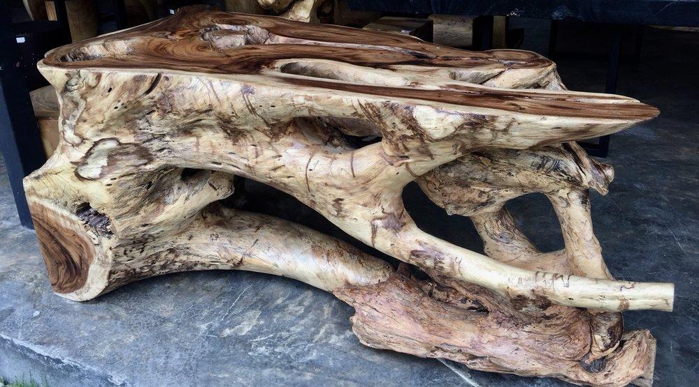 Acacia Lacquered Console