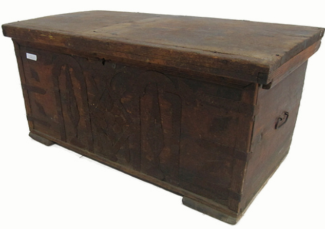 Turkish Ottoman Trunk