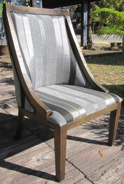 Annabel Chair with Sabra Cloth