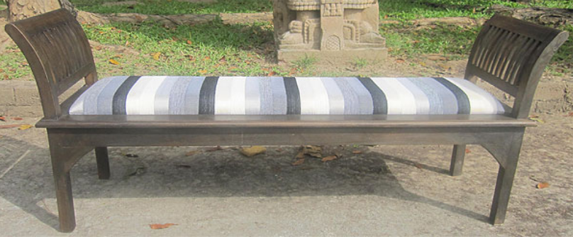 Rest Bench with Sabra Cloth