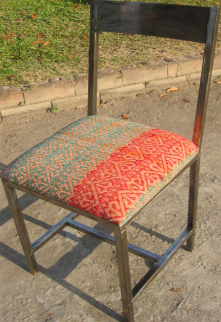 Bella Iron Chair with Anatolian