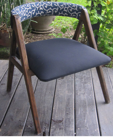 Danish Chair with Japanese Cotton