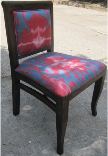 Ami Chair with Silk Ikat