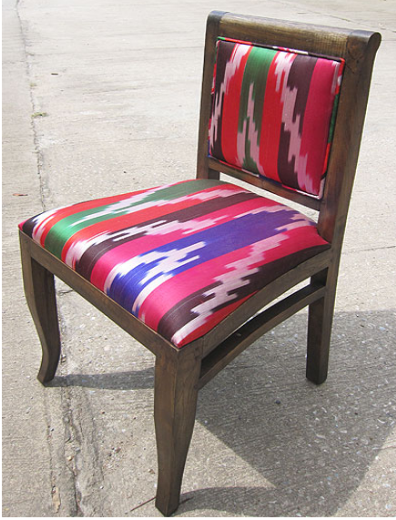 Ami Chair with Suzeini Cloth