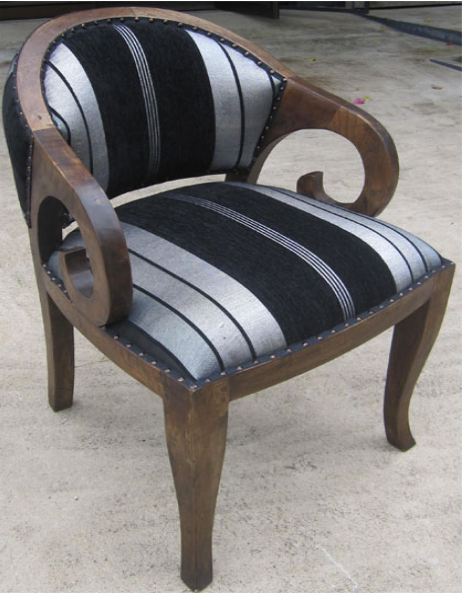Betawi Chair with Sabra Cloth