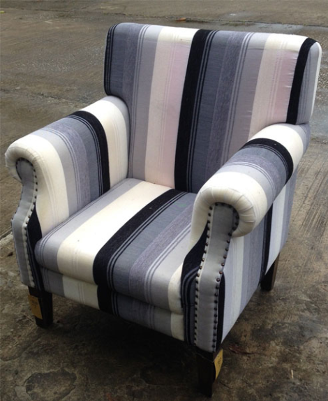 Sofa Chair with Sabra Cloth