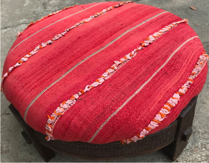 Grinder with Berber Blanket