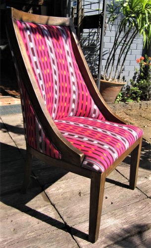 Annabel Chair with San Marcos Cotton