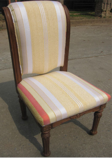 Chair Frame with Moroccan Sabra Cloth