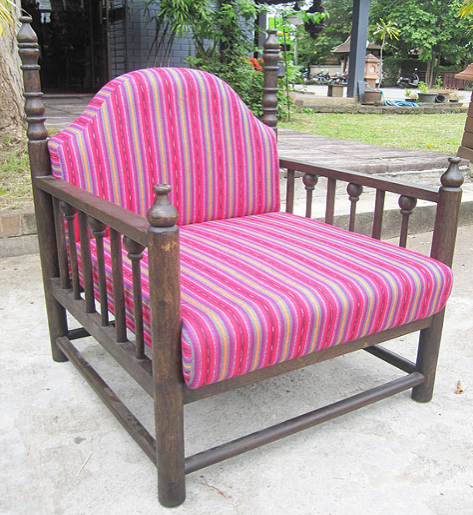 Chair with San Marcos Cotton