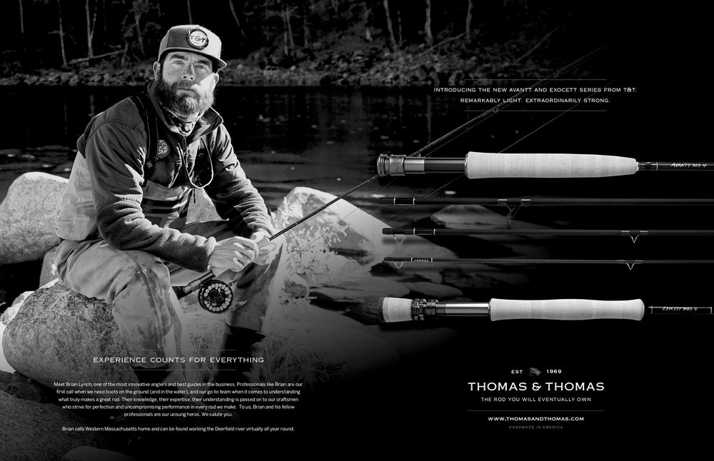 I am especially proud to be sponsored by Thomas & Thomas fly fishing rods.