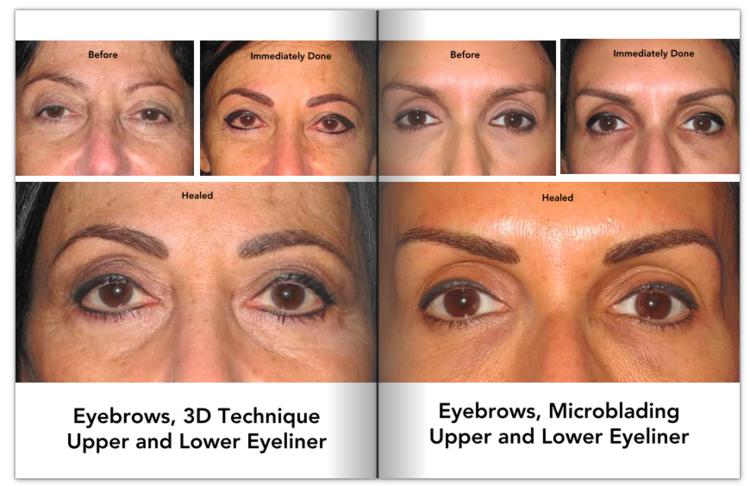 Eyebrows Olgalucia Permanent Cosmetics