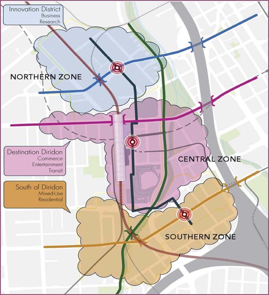 Diridon Station Area - Three Zone Image.jpg