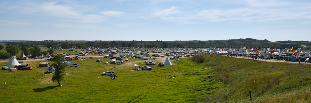 Sacred Stone Camp, August 28 2016.