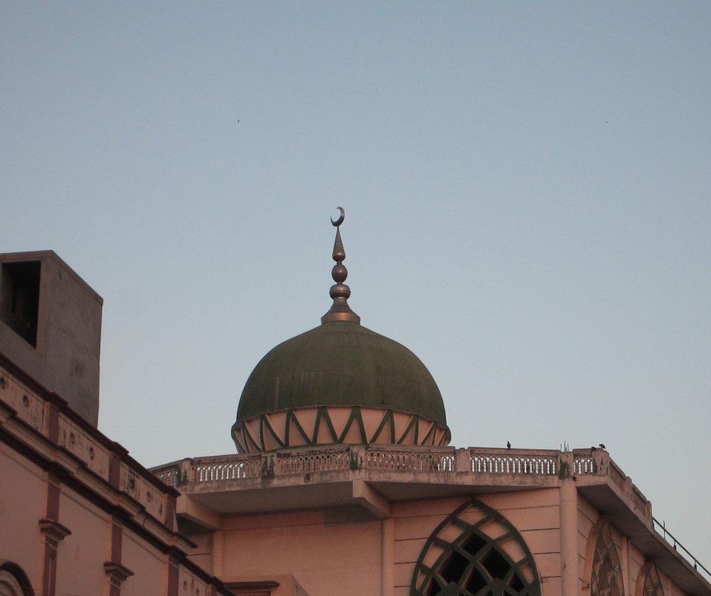 A mosque in our neighbourhood