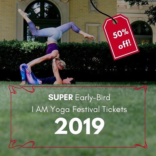 Super early-bird 2019 I AM Yoga Festivals have released!  There are only a few available at this price.  The date is set:  June 29th + 30th, 2019 at Tulsa Garden Center.    link in the profile  #iamyogafestival #iamyogatulsa #2019iamyogafestival #918yoga