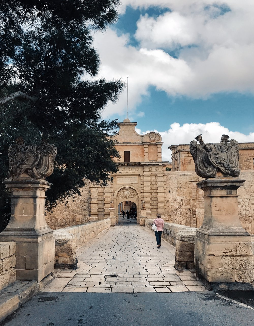 1. Mdina  - A hilltop medieval walled city featured in Game of Thrones and packed with the historic mansions of Maltese nobilityWe had the entire place to ourselves and toured the city in less than 2 hours. Recognise this gate from 'Game of Thrones'?