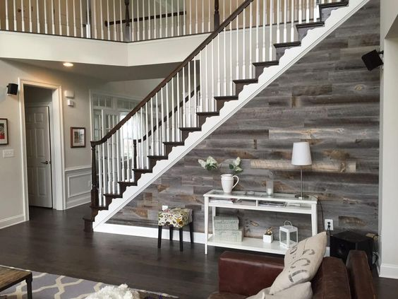 Have you ever watched an episode of Fixer Upper? If so, you know Joanna Gaines signature design element of a home is an accent wall- specifically shiplap. Accent walls are absolutely trending lately, and are an element you can add to your property to set it apart. This accent wall is essentially stick-on paneling, so even if you aren't that crafty, you can do this yourself!