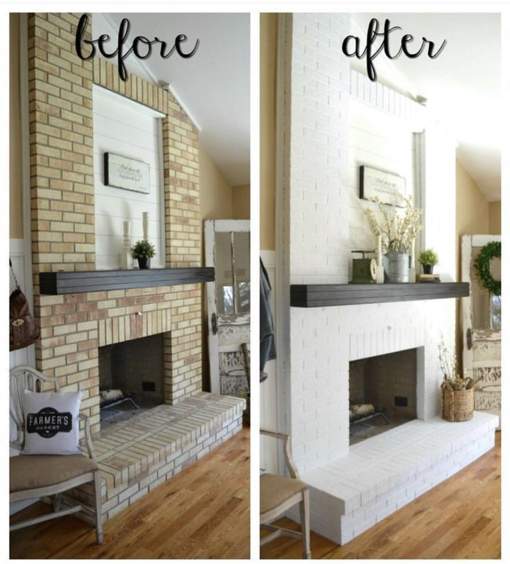 Lastly, we all know white is a color you can add to your home to signify cleanliness. While it is incredibly hard to keep it looking pure, when you are just flipping a property it's the impression that counts! Just like accent walls & barn doors, white brick is definitely trending right now. Giving a modern touch to a traditional styled home gives a potential buyer all the balance they need
