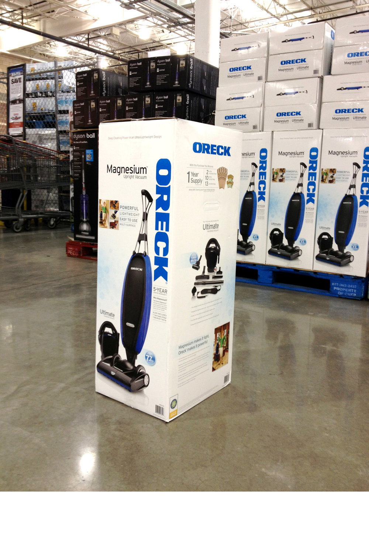 Vacuum Cleaner   Oreck   Packaging