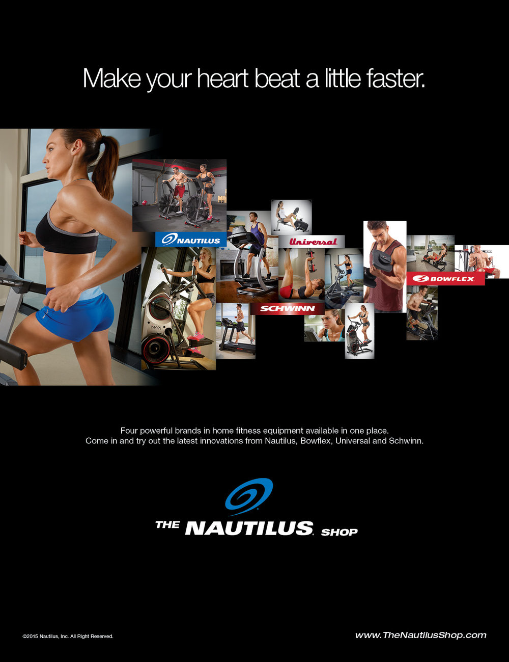 The Nautilus Shop | Nautilus Inc | Consumer Print Ad