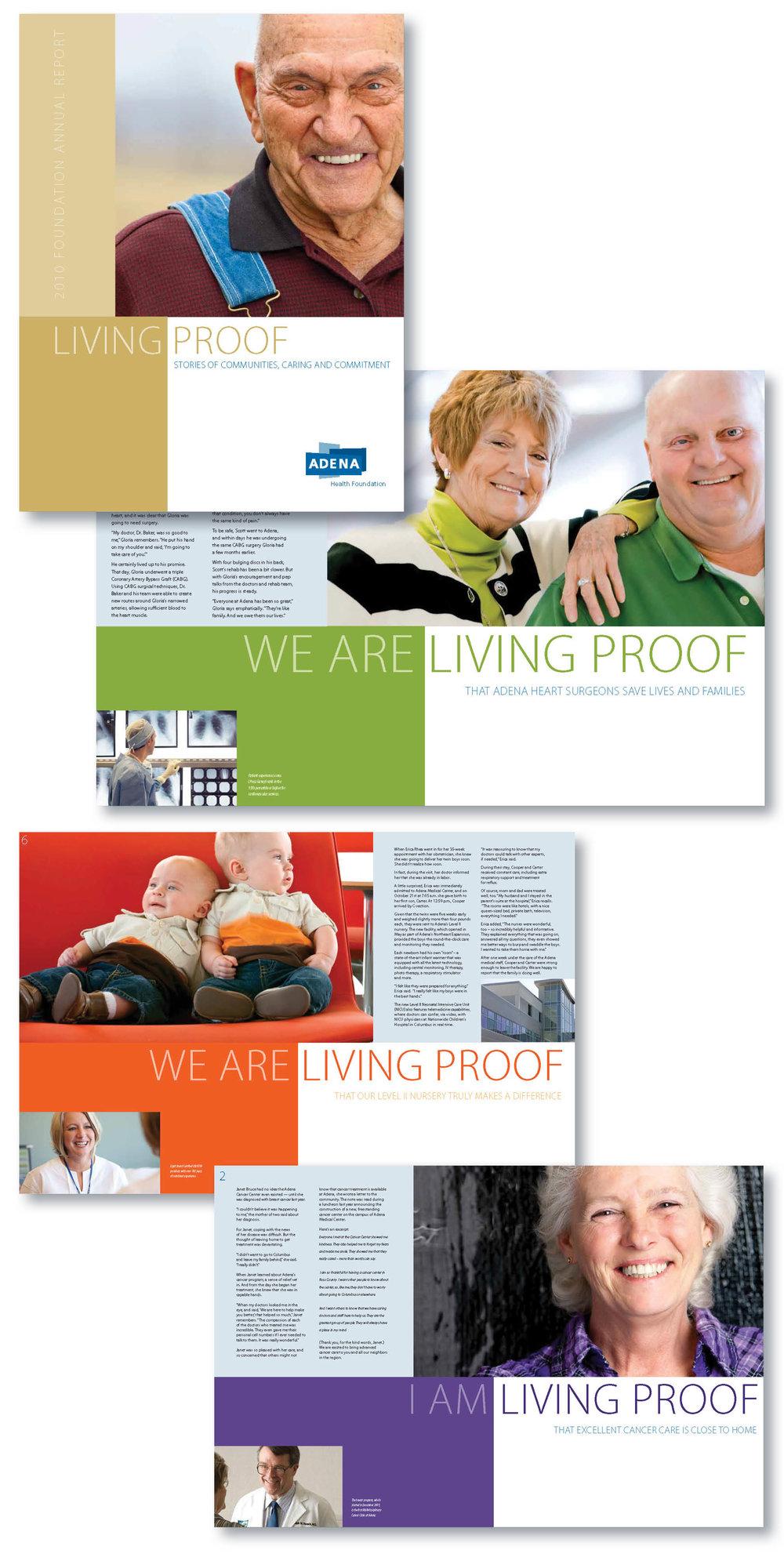 Living Proof | Adena Health | Annual Report