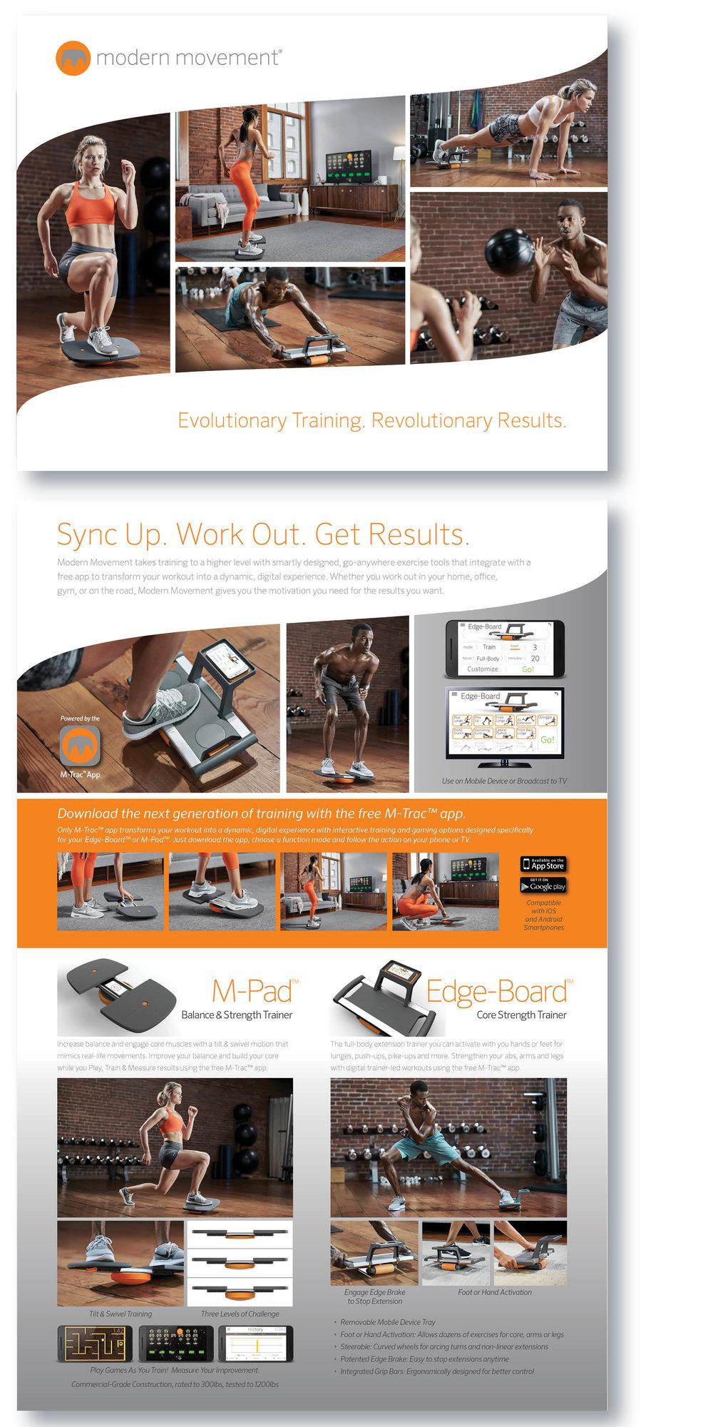 Modern Movement | Nautilus, Inc | Product Launch Brochure
